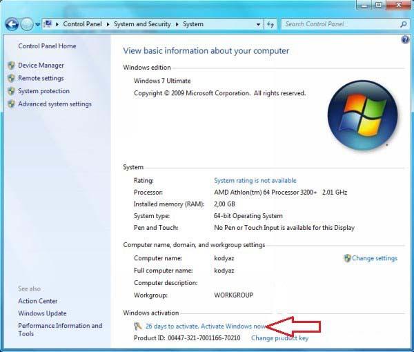 where do i find my windows product key windows 7