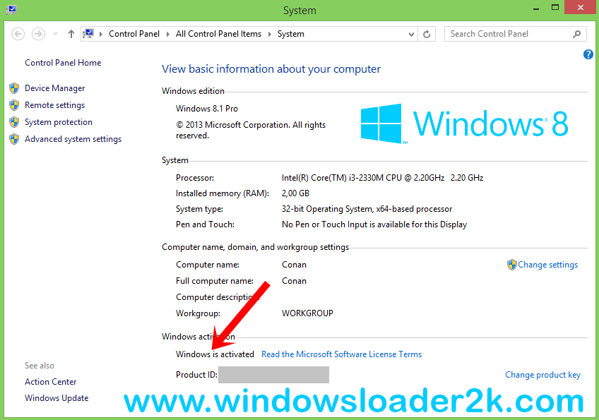 windows 8 loader free  full version